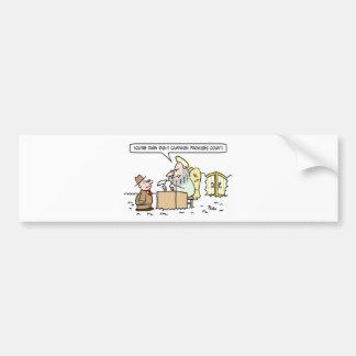 campaign contributions count heaven peter saint bumper sticker