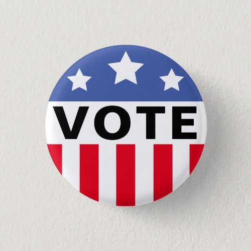 Campaign Election Vote Template Button