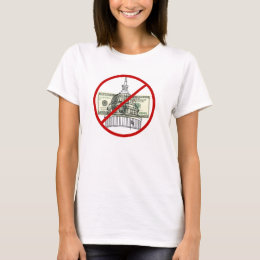 Campaign Finance-Get Money Out Of Politics Womens T-Shirt