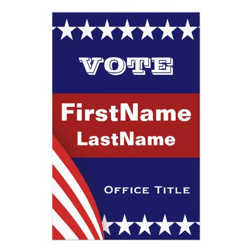 free campaign poster templates