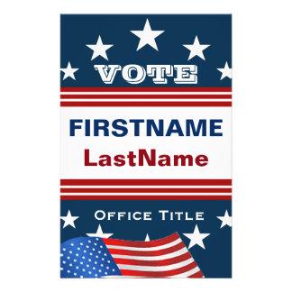 voting flyer