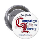 Campaign For Liberty Button - Pin back RON PAUL