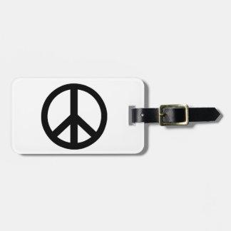 Campaign for Nuclear Disarmament Symbol Bag Tag