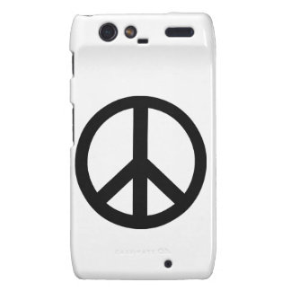 Campaign for Nuclear Disarmament Symbol Droid RAZR Cover