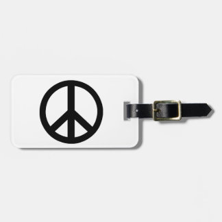 Campaign for Nuclear Disarmament Symbol Tags For Bags