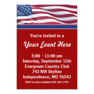 political invitations zazzle
