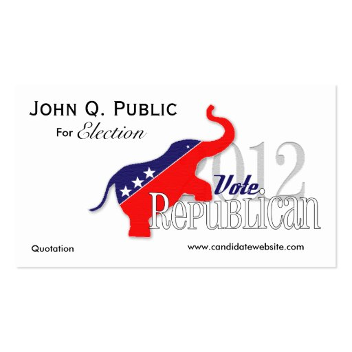 Campaign promotional pocket cards business cards zazzle for Promotional business cards