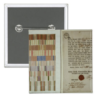 Campaign ribbons and record of duty button