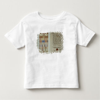 Campaign ribbons and record of duty toddler t-shirt
