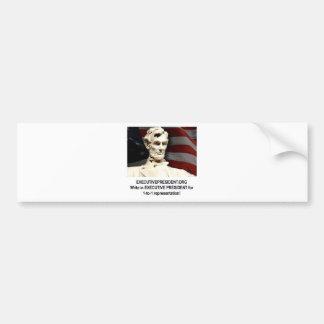 Campaign shirt bumper sticker