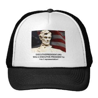 Campaign shirt trucker hat