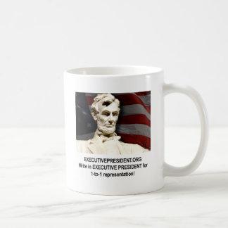 Campaign shirt classic white coffee mug
