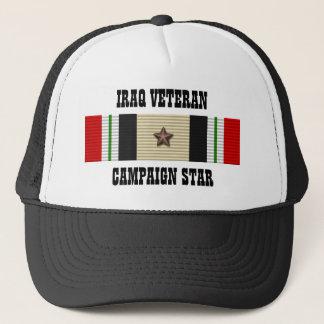 CAMPAIGN STAR / HAT / IRAQ VETERAN