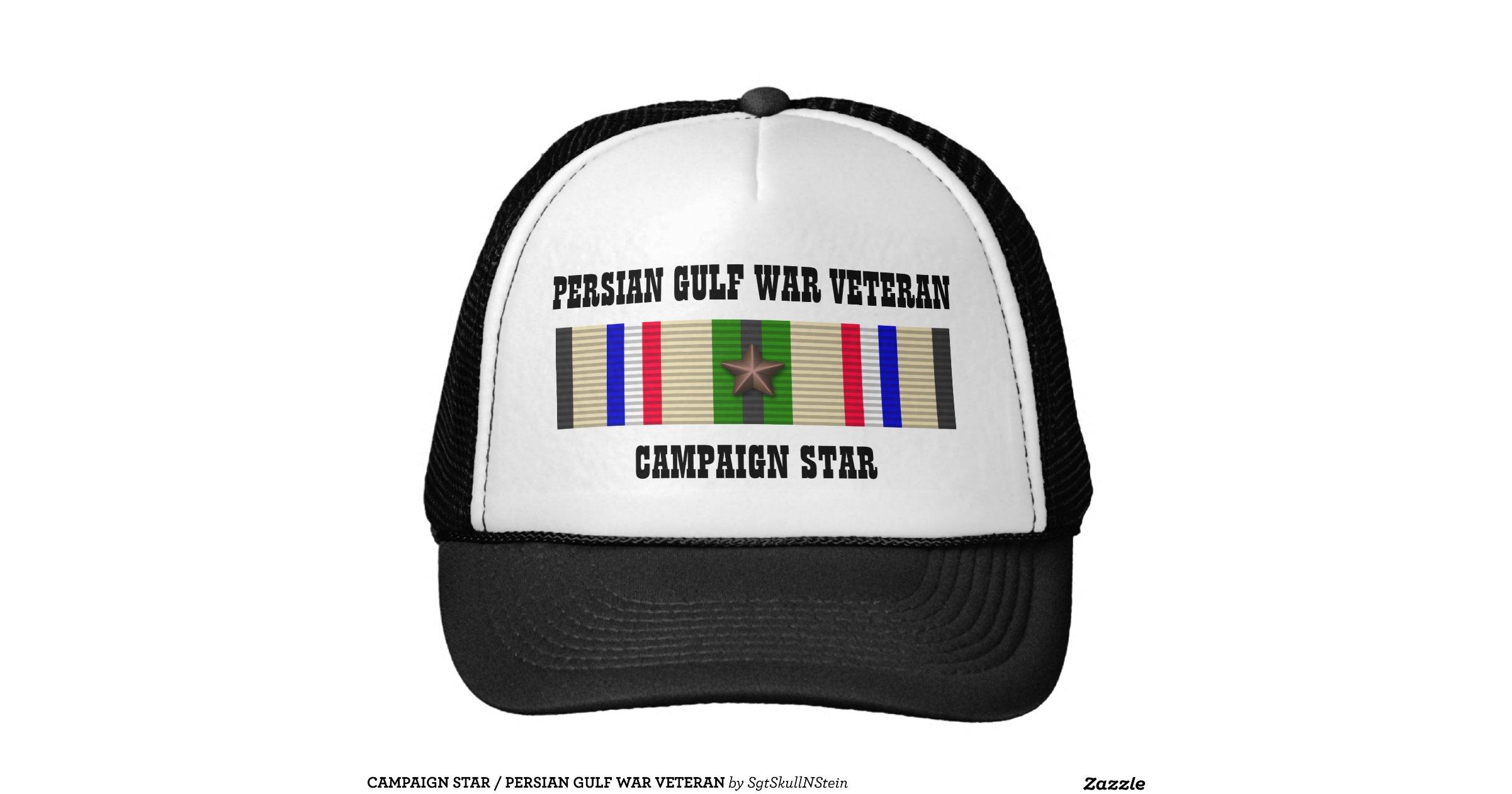 War Veteran Trucker Hat