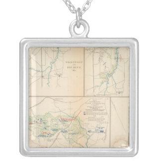 Campaign Sterling Price Square Pendant Necklace