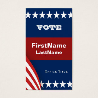 Campaign Template Business Card