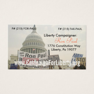 Campaigner Card! Business Card