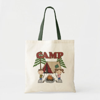 Campamento de verano bolsa tela barata