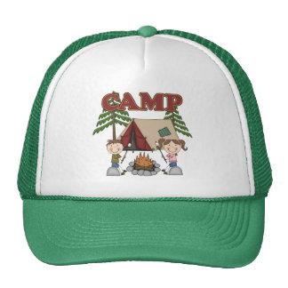 Campamento de verano gorros bordados