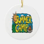 Campamento de verano ornamentos para reyes magos