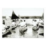 Campamento de verano para hombre joven 1925 invitación 12,7 x 17,8 cm