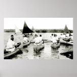 Campamento de verano para hombre joven 1925 poster
