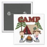 Campamento de verano pins