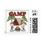 Campamento de verano sellos