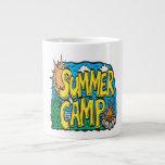 Campamento de verano tazas jumbo