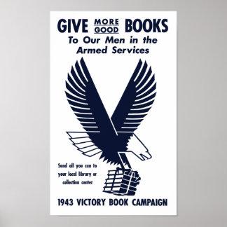 Campaña 1943 del libro de la victoria -- WWII Póster