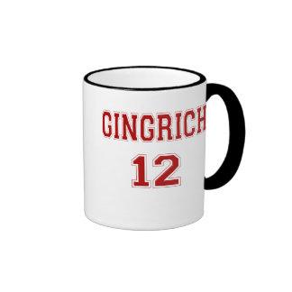 Campaña 2012 de Gingrich Tazas