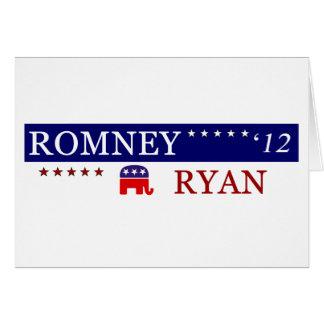 Campaña 2012 de Romney Ryan Felicitacion