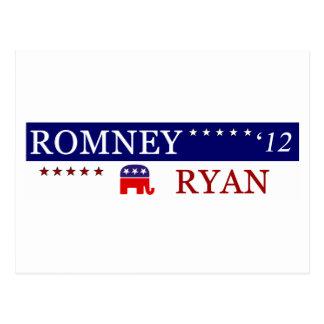 Campaña 2012 de Romney Ryan Postales