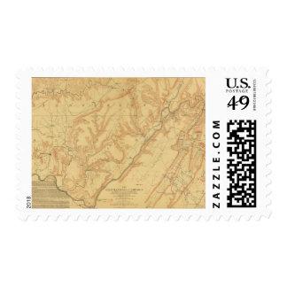 Campaña 3 de Chattanooga Timbres Postales