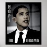 Campaña de Barack Obama para la esperanza Impresiones