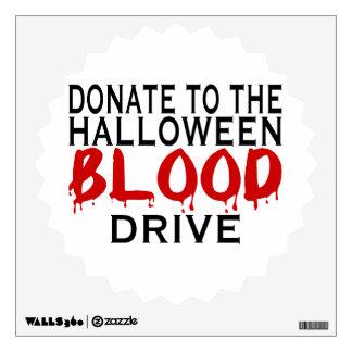 Campaña de donación de sangre de Halloween