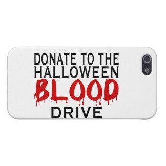 Campaña de donación de sangre de Halloween iPhone 5 Carcasa