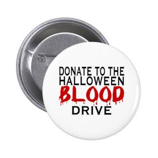 Campaña de donación de sangre pin