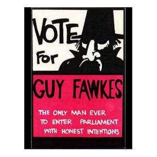 Campaña de Guy Fawkes Postal