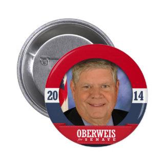 CAMPAÑA DE JIM OBERWEIS PINS