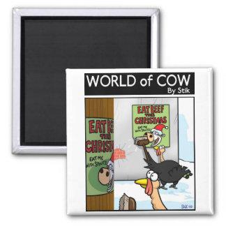 Campaña de la carne de vaca de Turquía Imán Cuadrado