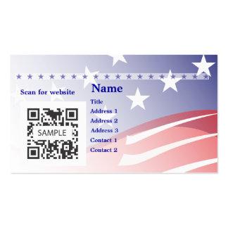 Campaña de la plantilla de la tarjeta de visita