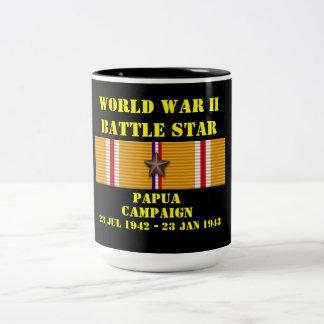 Campaña de Papua Taza De Dos Tonos