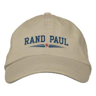 Campaña de Paul del rand Gorras De Beisbol Bordadas
