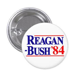 Campaña de Reagan Bush 1984 Pin