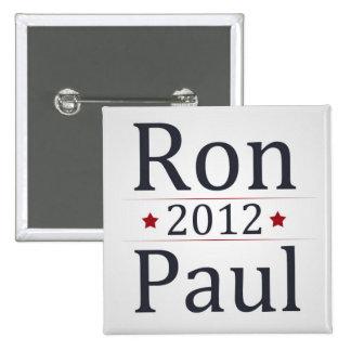Campaña de Ron Paul 2012 Pin Cuadrado