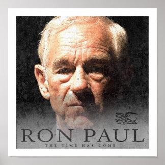 Campaña de Ron Paul para la libertad Póster