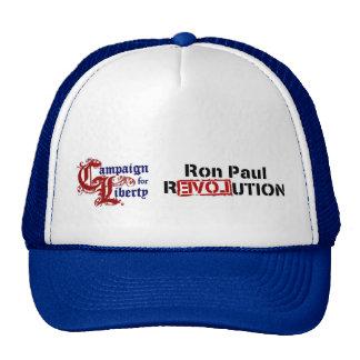 Campaña de Ron Paul para la revolución de la liber Gorro De Camionero