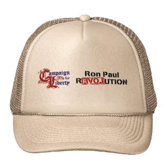 Campaña de Ron Paul para la revolución de la liber Gorras De Camionero