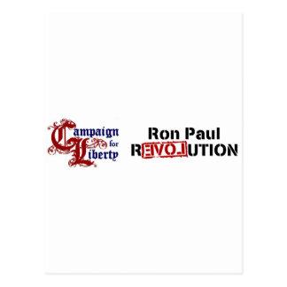 Campaña de Ron Paul para la revolución de la Postal